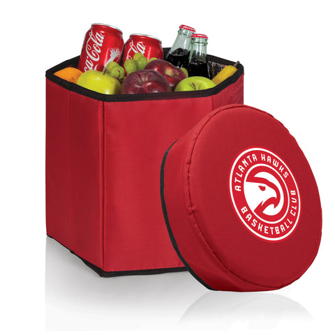 Atlanta Hawks Bongo Cooler Chair and Seat for cooling drinks and tailgater cool food