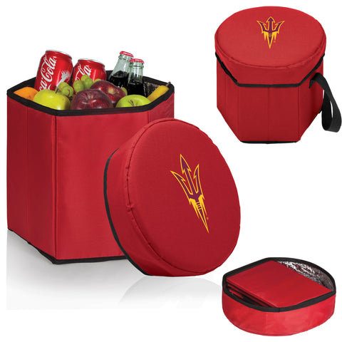 The ASU Sun Devils Red Bongo Cooler - Picnic Time 596-00-100-024-0-1