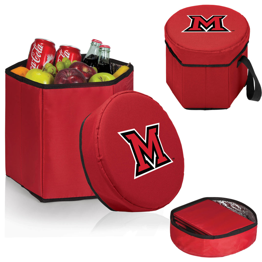 The Miami RedHawks Red Bongo Cooler - Picnic Time 596-00-100-334-0-1