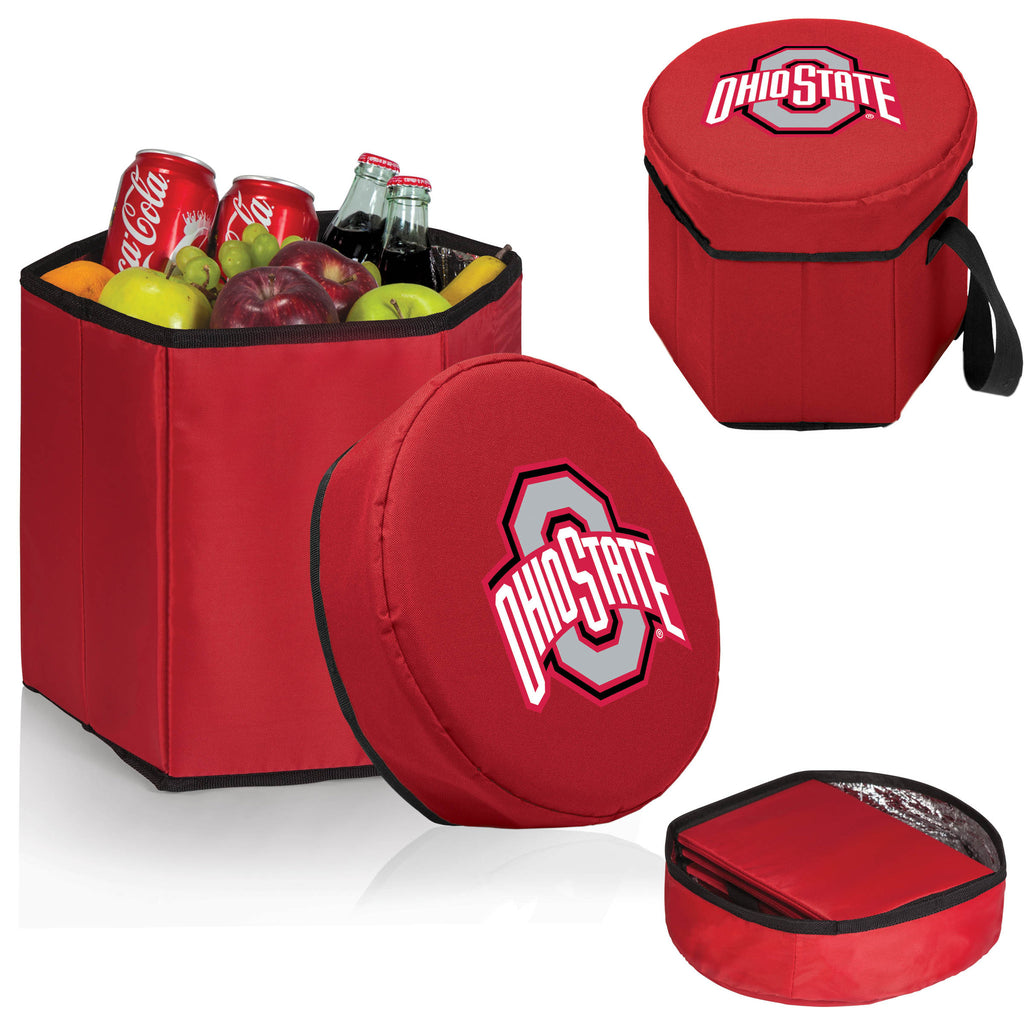 The OSU Buckeyes Red Bongo Cooler - Picnic Time 596-00-100-444-0-1