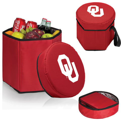 The OU Sooners Red Bongo Cooler - Picnic Time 596-00-100-454-0-1