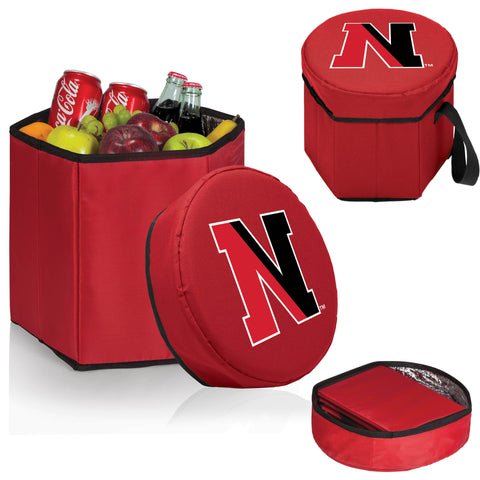 The NU Huskies Red Bongo Cooler - Picnic Time 596-00-100-824-0-1