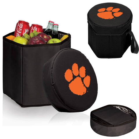 The Clemson  Tigers Bongo Cooler - Picnic Time 596-00-179-104-0
