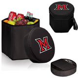 The Miami RedHawks Black Bongo Cooler - Picnic Time 596-00-179-334-0-1