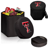 The TTU Red Raiders Black Bongo Cooler - Picnic Time 596-00-179-574-0-1