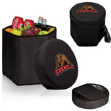 The Cornell Bears Black Bongo Cooler - Picnic Time 596-00-179-684-0-1