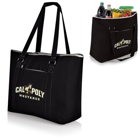 The Cal Poly Mustangs Tahoe Cooler Tote - Picnic Time 598-00-175-904-0