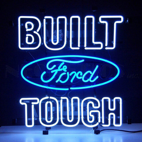 Neonetics Built Ford Tough Neon Sign- 5BFTXX