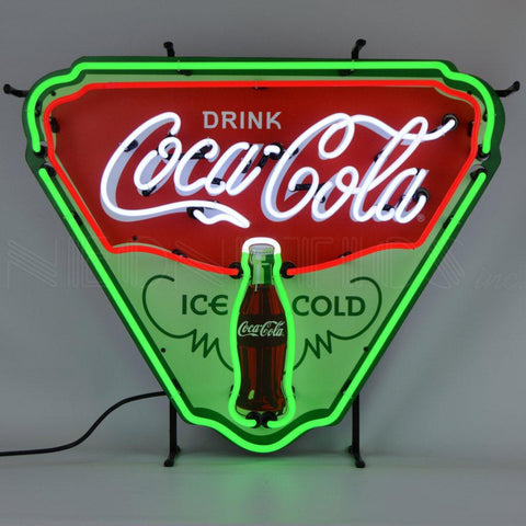 Neonetics Coca-Cola Ice Cold Shield Neon Sign - 5CCICE