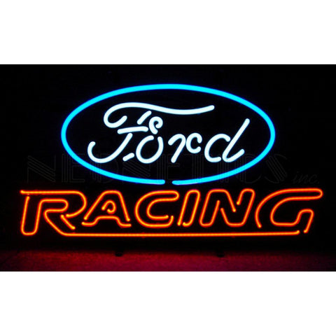 Neonetics 5FRACE - The Ford Racing Neon Sign