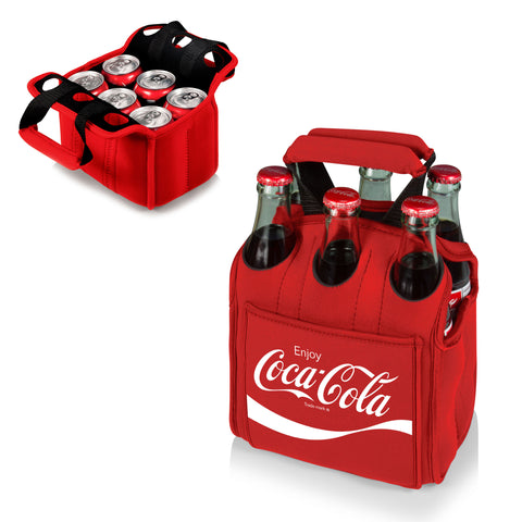 The Coca Cola Six Pack Cooler - Red  - Picnic Time 608-00-100-911-0