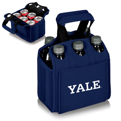 The Yale Bulldogs Six Pack Cooler - Picnic Time 608-00-138-054-1