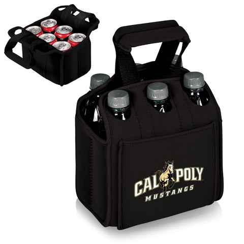 The CP Mustangs Six Pack Cooler - Picnic Time 608-00-179-904-0