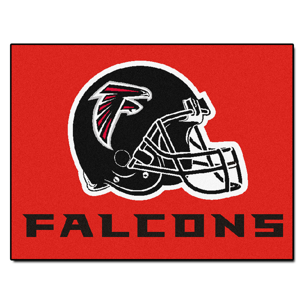 Falcons All-Star Mat for Atlanta Falcon NFL Football Fans