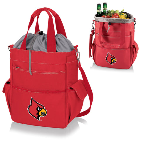 Louisville Cardinals Activo Cooler Tote - Picnic Time 614-00-100-304-0