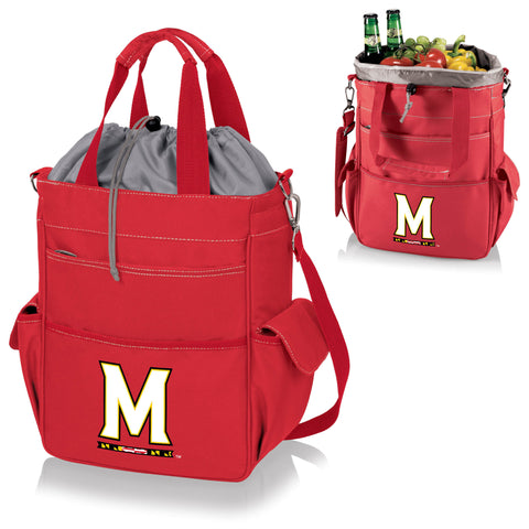 Maryland Terrapins Activo Cooler Tote - Picnic Time 614-00-100-314-0