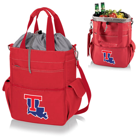 Louisiana Tech Bulldogs Activo Cooler Tote - Picnic Time 614-00-100-854-0