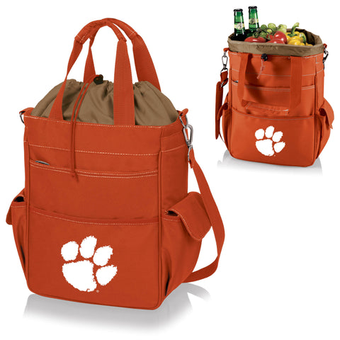 Clemson  Tigers Activo Cooler Tote - Picnic Time 614-00-103-104-0