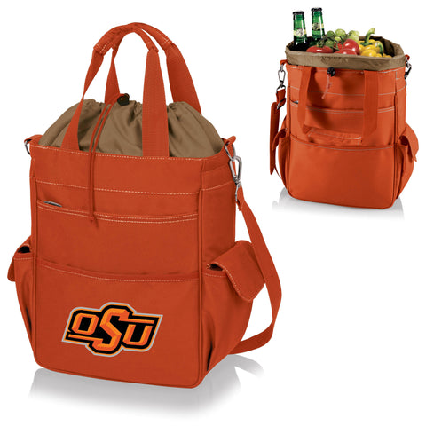 Oklahoma State  Cowboys Activo Cooler Tote - Picnic Time 614-00-103-464-0