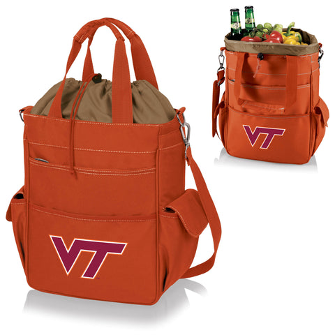 Virginia Tech Hokies Activo Cooler Tote - Picnic Time 614-00-103-604-0