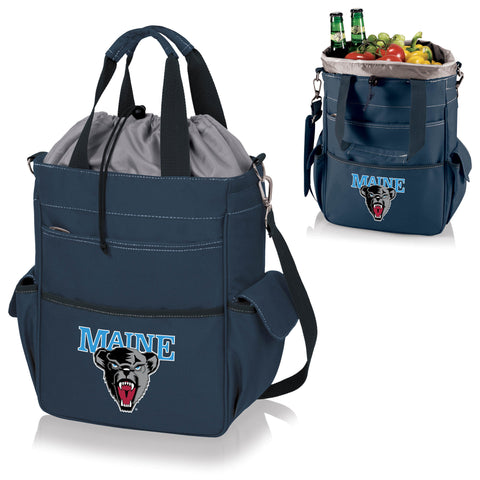 Maine Black Bears Activo Cooler Tote - Picnic Time 614-00-138-804-0