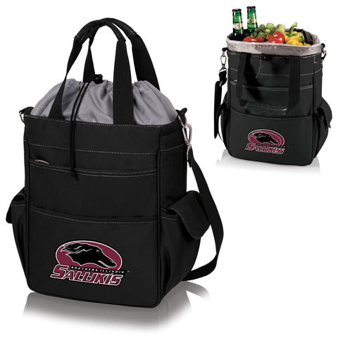 Southern Illinois  Salukis Activo Cooler Tote - Picnic Time 614-00-175-034-1