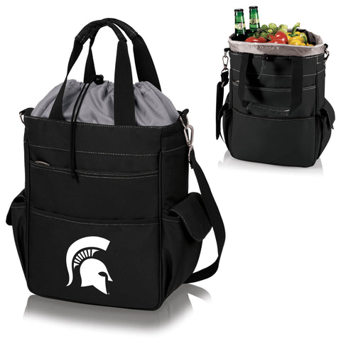 Michigan State  Spartans Activo Cooler Tote - Picnic Time 614-00-175-354-0