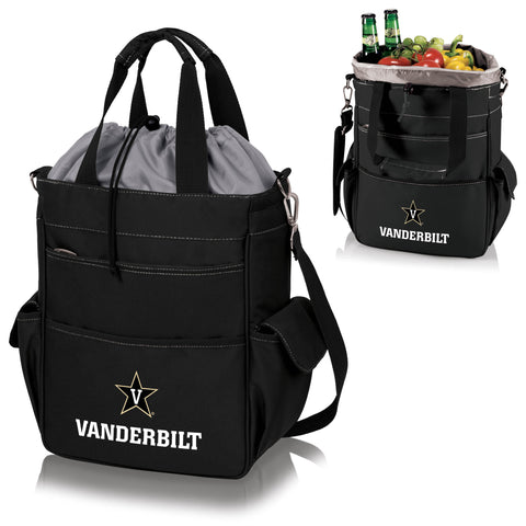 Vanderbilt  Commodores Activo Cooler Tote - Picnic Time 614-00-175-584-0