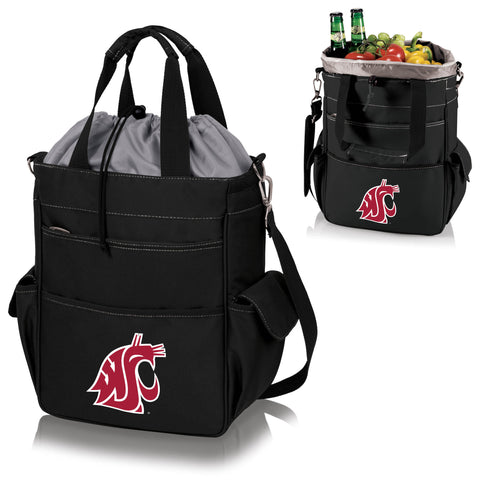Washington State  Cougars Activo Cooler Tote - Picnic Time 614-00-175-634-0
