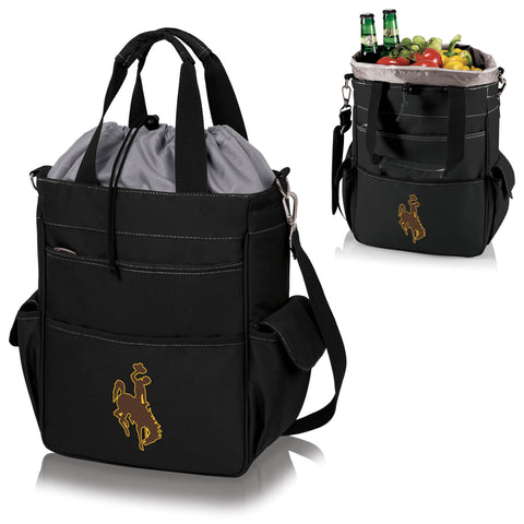Wyoming Cowboys Activo Cooler Tote - Picnic Time 614-00-175-694-0