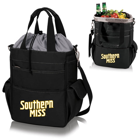 Southern Mississippi Golden Eagles Activo Cooler Tote - Picnic Time 614-00-175-744-0
