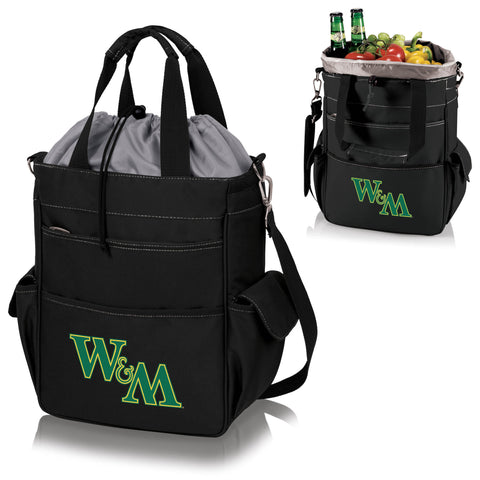 William & Mary Tribe Activo Cooler Tote - Picnic Time 614-00-175-784-0
