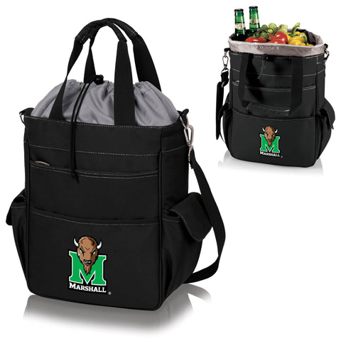 Marshall  Thundering Herd Activo Cooler Tote - Picnic Time 614-00-175-894-0