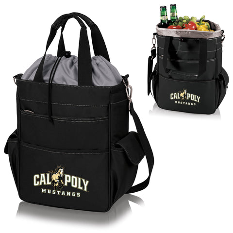 Cal Poly Mustangs Activo Cooler Tote - Picnic Time 614-00-175-904-0