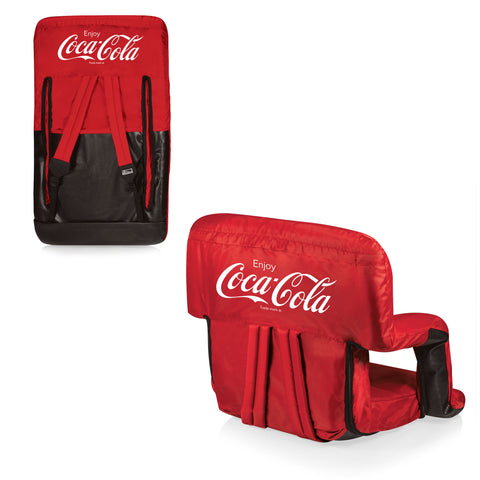 The Coca Cola Ventura Seat - Red  - Picnic Time 618-00-100-911-0