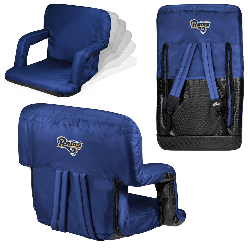Los Angeles Rams Ventura Stadium Seat and Bleacher Cushion Chair