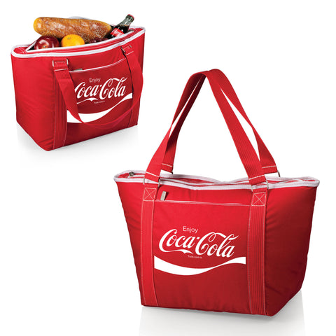 The Coca Cola Topanga Cooler Tote - Red  - Picnic Time 619-00-100-911-0