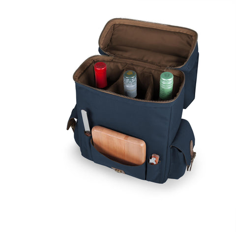 The Moreno Wine tote carries three bottles