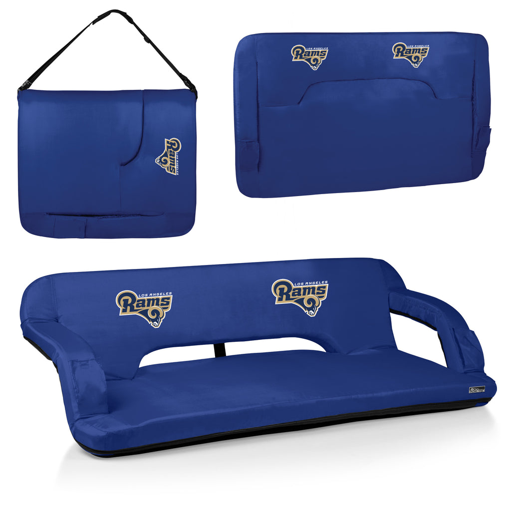 LA Rams Reflex Portable Travel Couch by Picnic Time