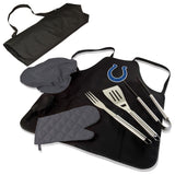Colts BBQ Apron Tote and Indianapolis Grill Tool Sets