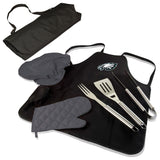 Eagles BBQ Apron Tote and Philadelphia Grill Tool Sets