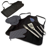 Titans BBQ Apron Tote and Tennessee Grill Tool Sets