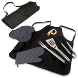 Redskins BBQ Apron Tote and Washington Grill Tool Sets