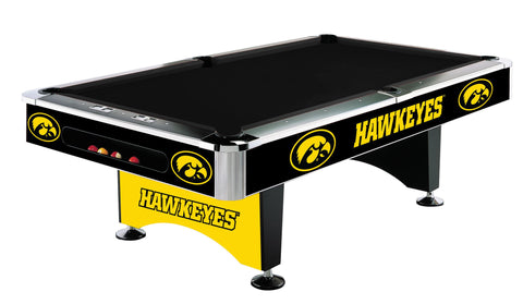 Iowa Hawkeyes 8' Pool Table - Imperial Usa Imp  64-4018