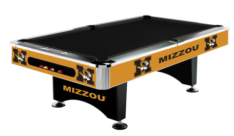 MIZZOU Tigers 8' Pool Table - Imperial Usa Imp  64-4019