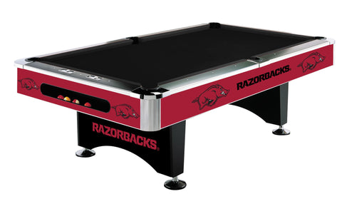Arkansas Razorbacks 8' Pool Table - Imperial Usa Imp  64-4022
