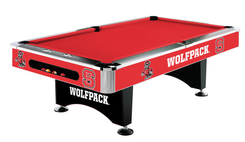 NC State Wolfpack 8' Pool Table - Imperial Usa Imp  64-4025