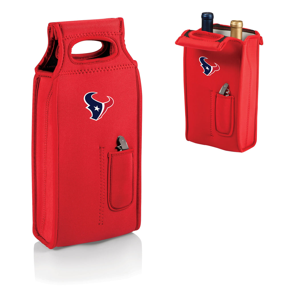 Picnic Times Houston Texans Samba Wine Cooler Tote