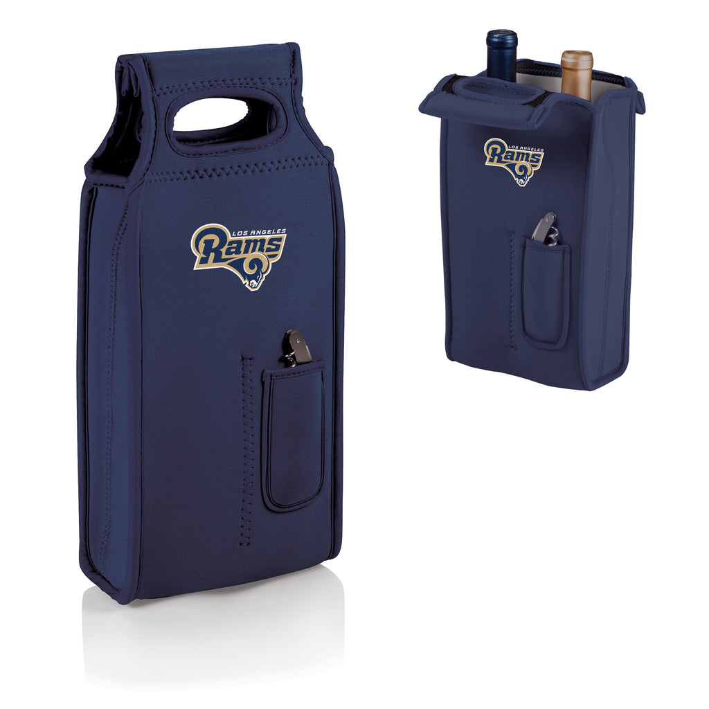 The Los Angeles Rams Samba Two Bottle Wine Tote