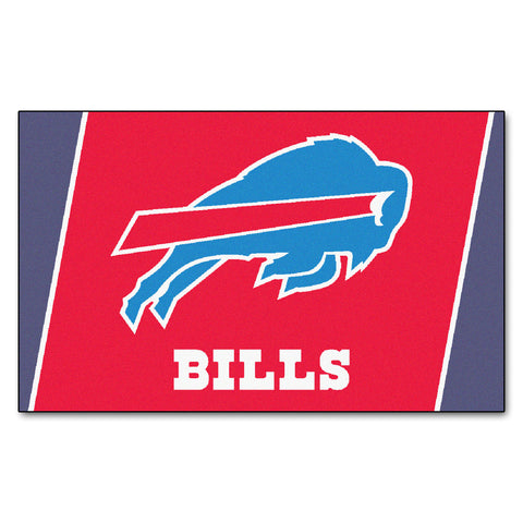 The Buffalo Bills NFL 4Ft x 6Ft Area Rug - FanMats 6563